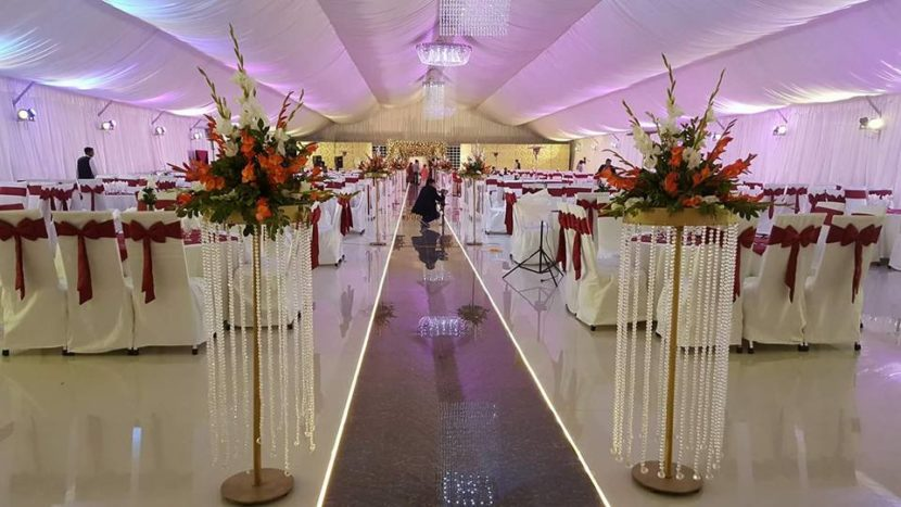 Red theme Pearl Marquee